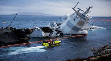 Britannia P&I Kulübü, Norveç Fırkateyni'nin kaza sonucu batmasıyla, artan tazminat talebiyle karşı karşıya.